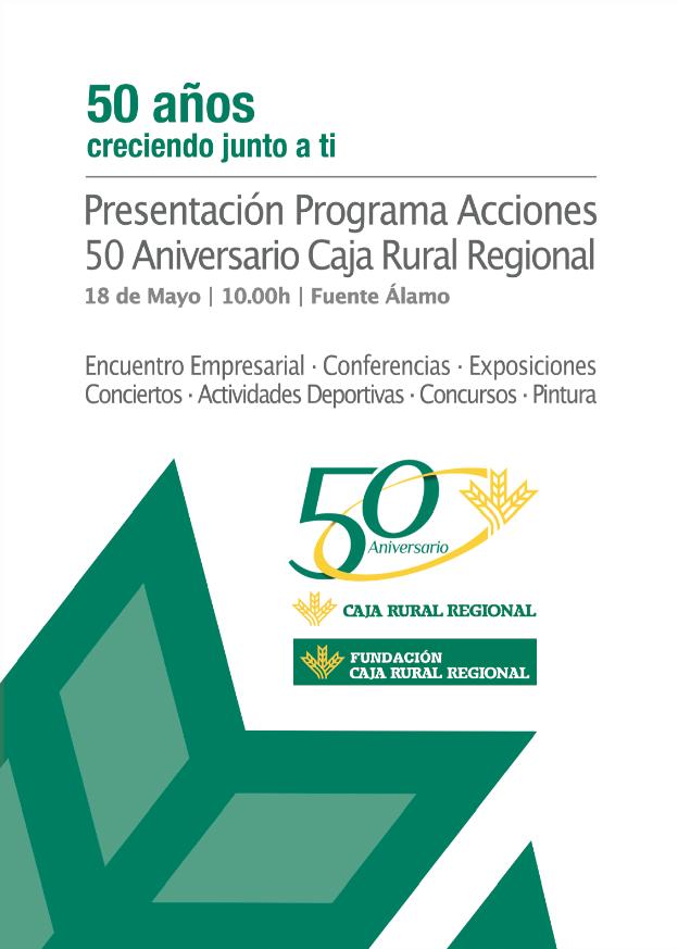caja rural regional 50 años