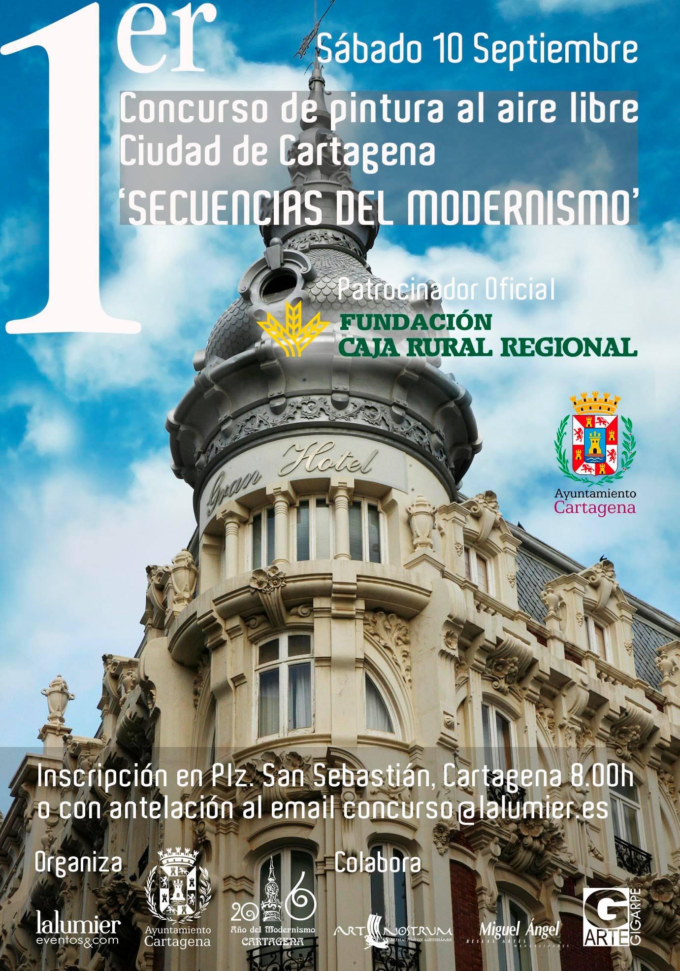 Cartel Concurso Pintura Cartagena