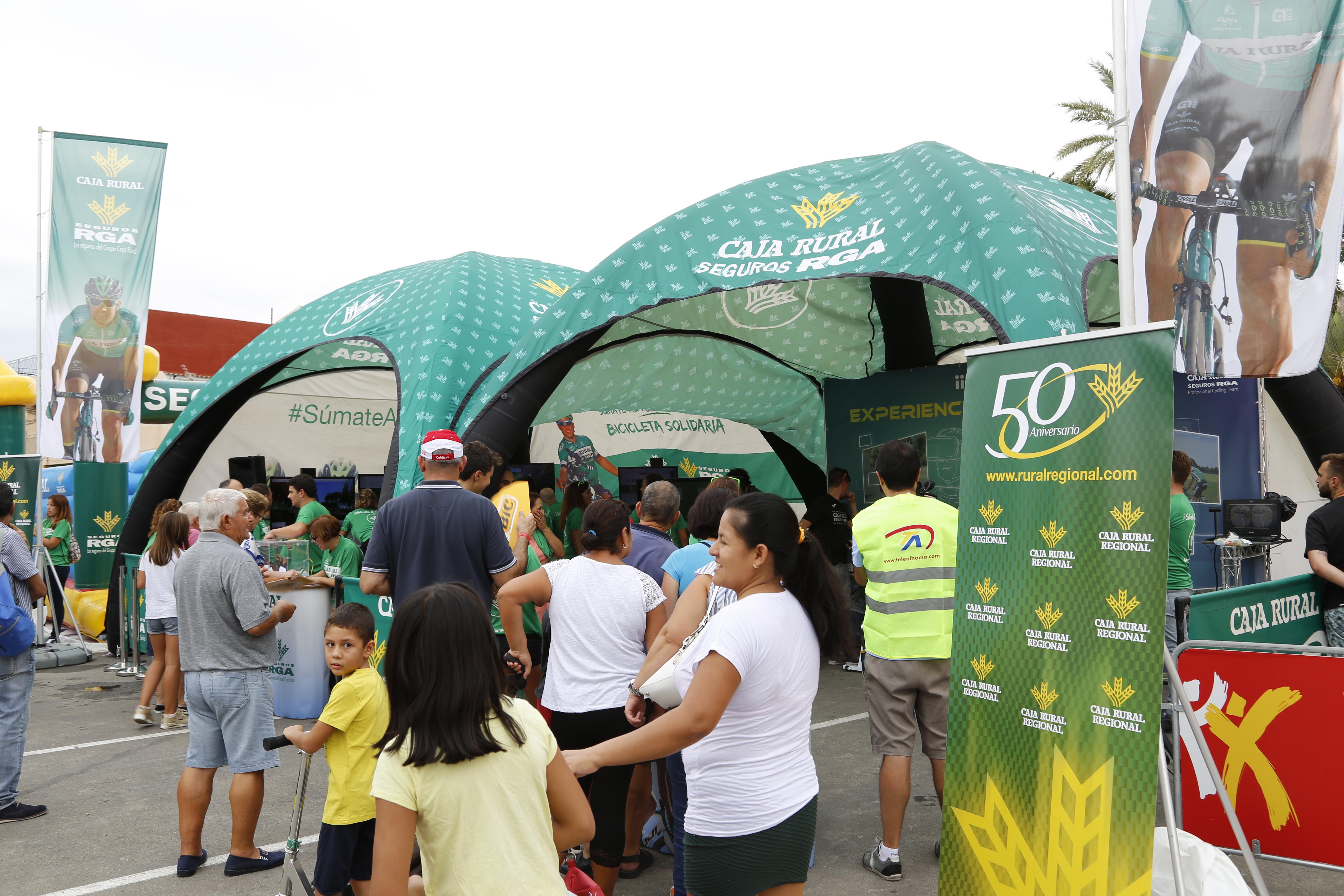 Fan Zone Caja Rural Seguros RGA La Vuelta 6