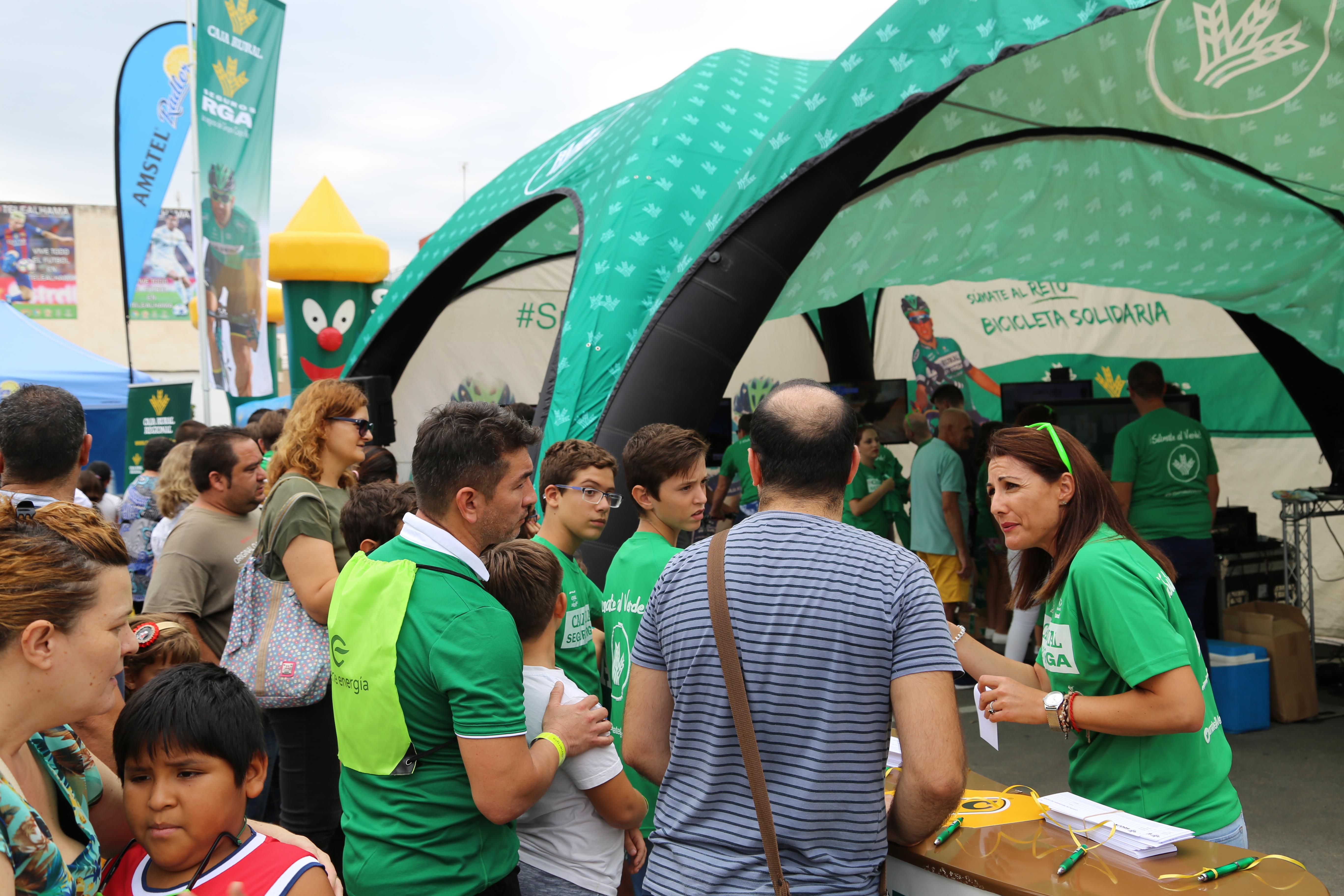 Fan Zone Caja Rural Seguros RGA La Vuelta 5