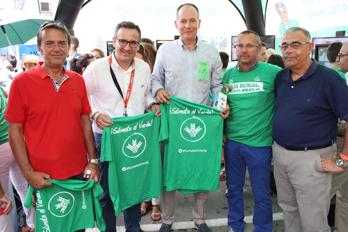 Fan Zone Caja Rural Seguros RGA La Vuelta 2-alcalde alhama