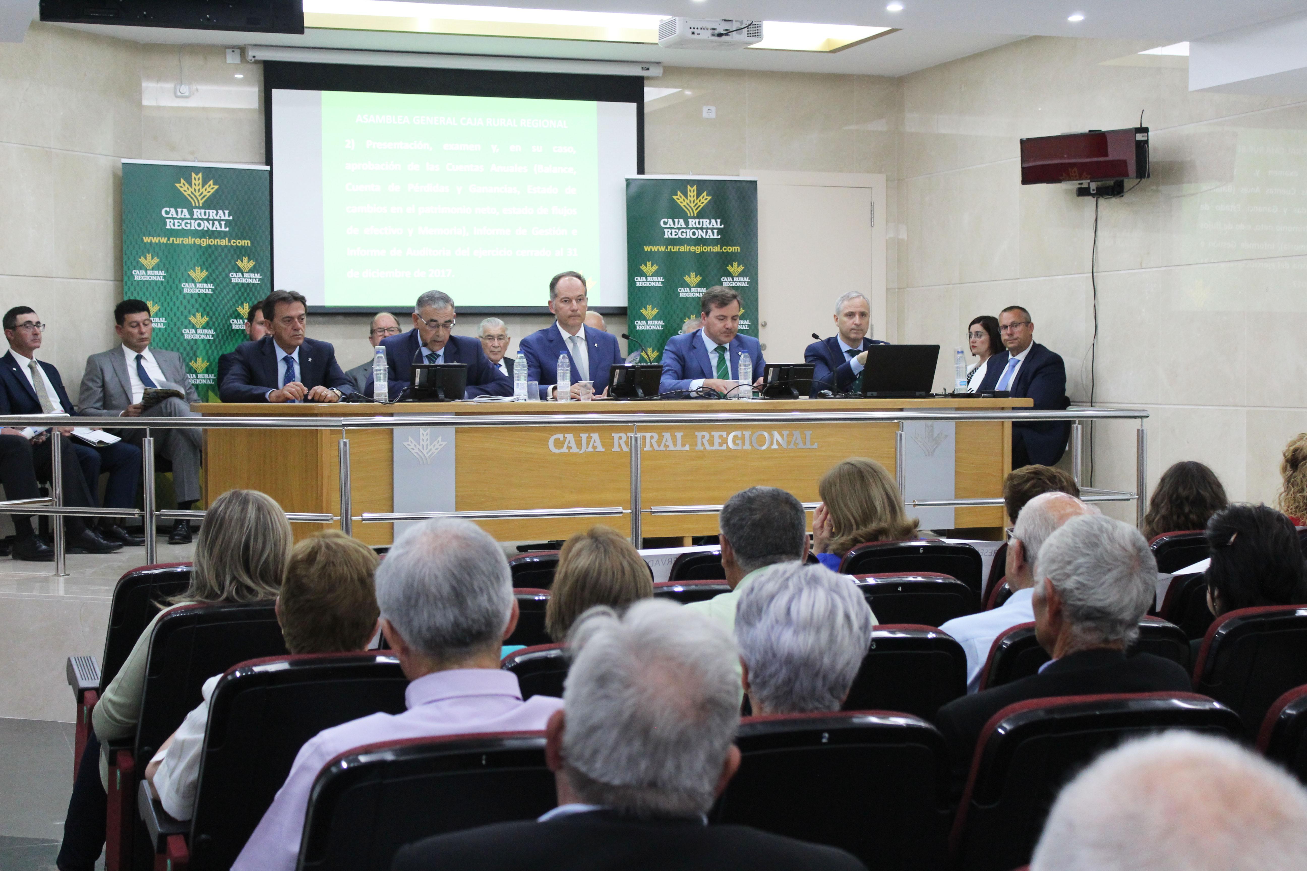 Asamblea General Caja Rural 2018