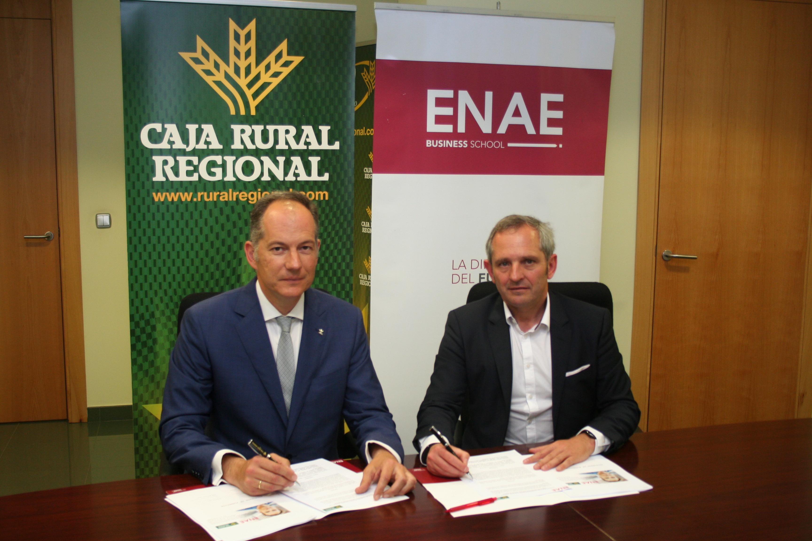 colaboración enae y caja rural